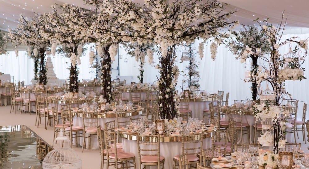 Wedding venue Decoration in Hertfordshire
